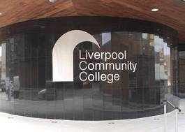 Institution featured at 70 percent quality 257 liverpool community college exterior shot building20120906 2 u6hl9g