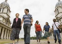 Institution featured at 70 percent quality 425 students walk on greenwich campus20120906 2 36x0wz
