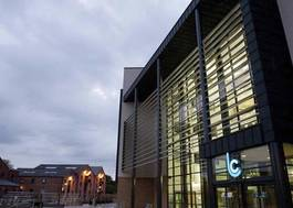 Institution featured at 70 percent quality 582 leicester college by dusk20120906 2 1ijz1gv