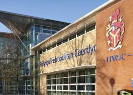 Institution featured at 70 percent quality preferred image   cardiff met front