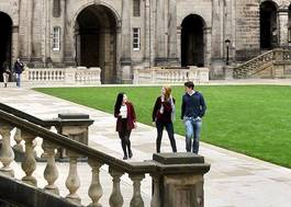 Institution featured at 70 percent quality e56 usp old college quad