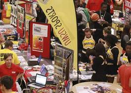 Institution featured at 70 percent quality westminster regent freshers fair